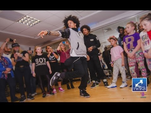Les Twins - Manchester Workshop May 2014 video