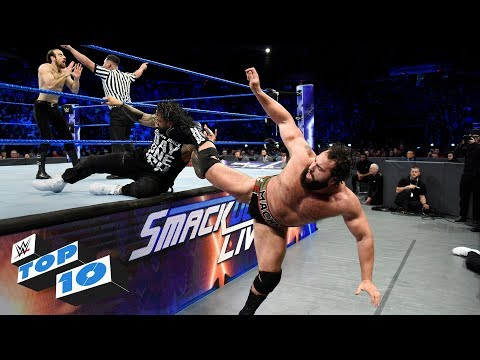 Top 10 SmackDown LIVE moments: WWE Top 10, December 12, 2017