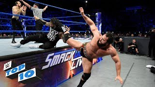 Download Top 10 SmackDown LIVE moments: WWE Top 10, December 12, 2017 3Gp Mp4