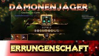 Diablo 3 - Saison 15 - Dämonenjäger - Errungenschaft - Bossmodus | Build | Guide | Saisonreise