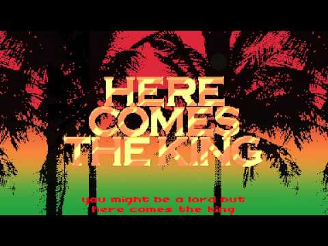 Snoop Lion here Comes The King (official Lyric Video) video