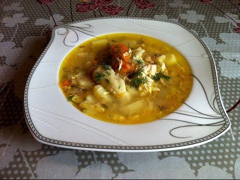 Суп с Галушками/Куриный Суп с Клецками/Простой Пошаговый Рецепт(Быстро и Вкусно)