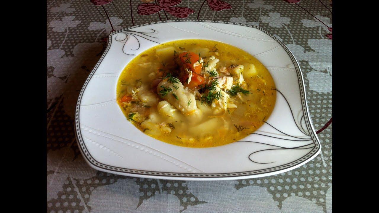 Суп на курином бульоне рецепт с пошагово