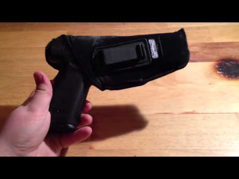 Uncle Mikes IWB holster review. one year.