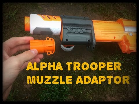 Honest Review: Alpha Trooper N-Strike Compatible Barrel Attachment by 3DPrintedSolid