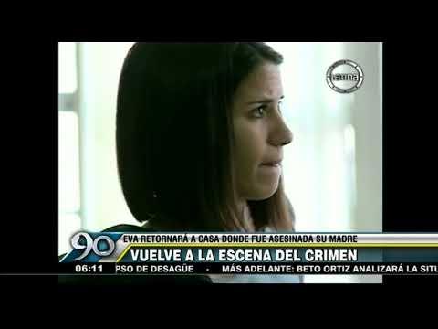 Eva Bracamonte retornará a casa donde fue asesinada