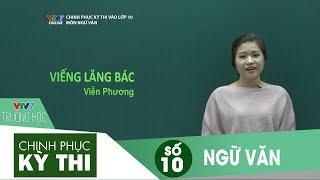 VTV7   Chinh phục kỳ thi vào 10   Ngữ văn   Số 10