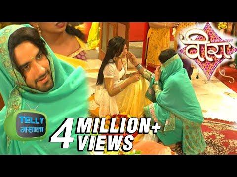 Baldev And Veera Romantic Meeting In Their Haldi Ceremony   Ek Veer Ki Ardaas... Veera   Star Plus thumbnail