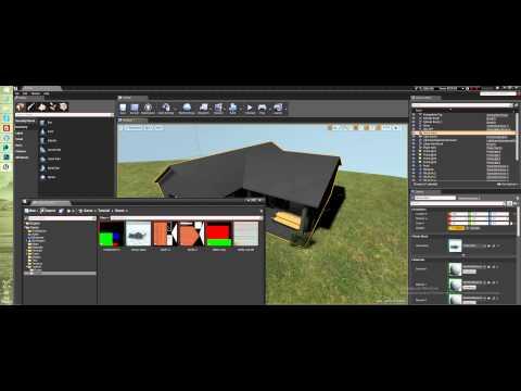 Создание уровня в Unreal Engine 4 - Работа над материалами (Часть 1)
