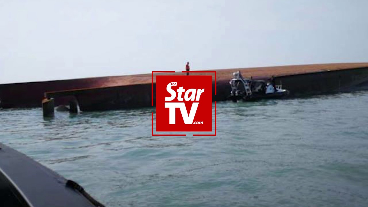 1 dead, 14 missing after sand mining ship capsizes off Johor