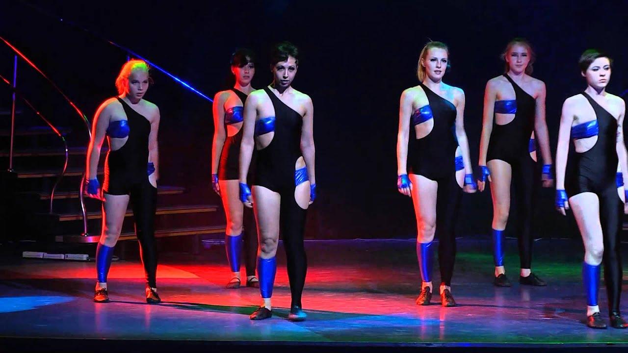 Летний отчетный концерт танцевальной школы DIVA в Гигант-холле 08.06.2014. Видео танца Джаз-модерн.