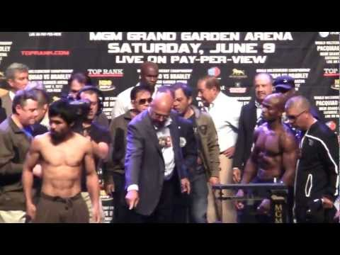 Pacquiao vs. Bradley (weigh-in)