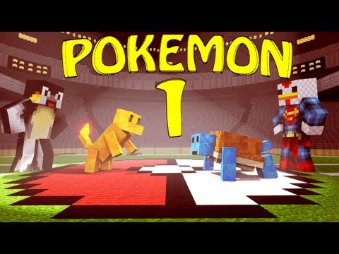 PALLET TOWN Minecraft Pokemon Mod Lets Play Pixelmon Ep 1