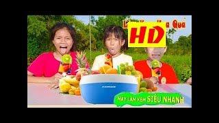 Phá Tan Cơn Nóng Với Trò Chơi Máy Làm Kem Hoa Quả Siêu Nhanh ❤ Đồ Chơi Trẻ Em Baby Ice Cream HD