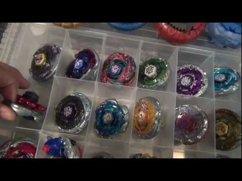 Jp0t s End of the Year BEYBLADE COLLECTION Video! Pt.1 - 12/31/12