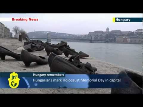 Hungarians mark International Holocaust Memorial Day 2013 in Budapest