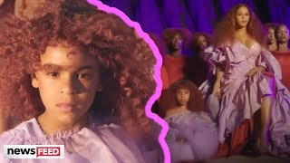 "Beyonce's Daughter, Blue Ivy, Steals The Spotlight In ""Spirit"" Music Video!"