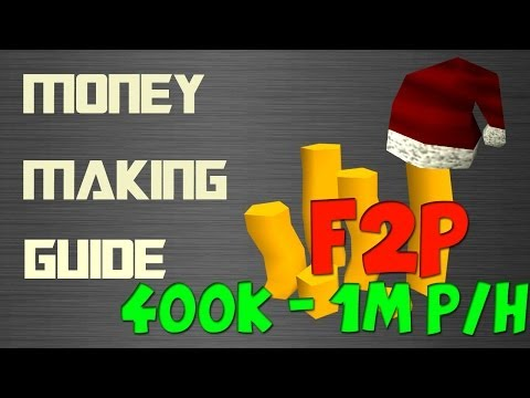 RuneScape 3 F2P EoC Money Making Guide 400k – 1m + per hour 2014 Commentary