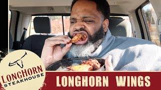 Longhorn Steakhouse Wings Food Review