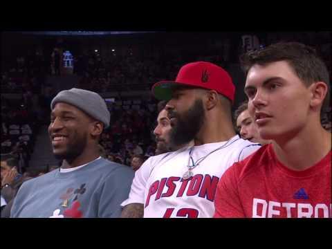 Cleveland Cavaliers vs Detroit Pistons - April 22, 2016