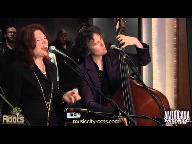 """Long Black Veil"" with Roseanne Cash and Levon Helm at 2011 Americana Honors Nominations"