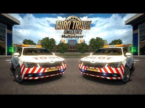 ETS2MP | Police Car Mod (Skoda Superb) | New Version | truckersmp.com