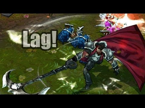 League of Legends : Lag