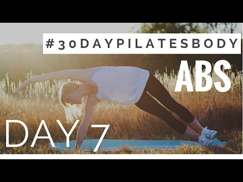 30 Day Pilates Body Challenge: Day 7 - Abs