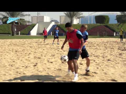 «Зенит-ТВ»: песочные процедуры