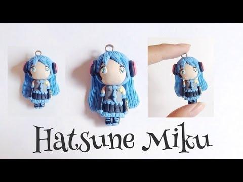Tutorial : Polymer Clay Hatsune Miku Chibi