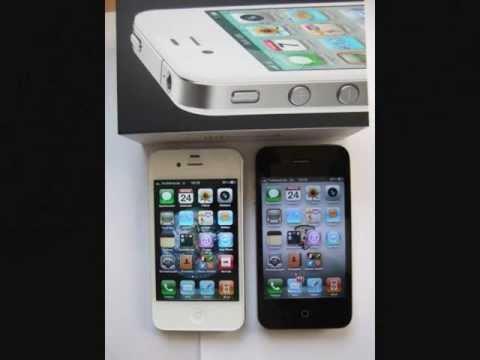 apple iphone 4s und 4 wei oder schwarz youtube. Black Bedroom Furniture Sets. Home Design Ideas