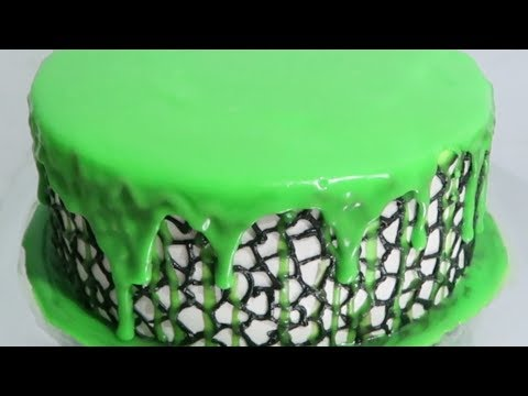 Recipe Ganache Chocolate White Wcc (Green) How to Make and Decorating Birthday Cake for Boys