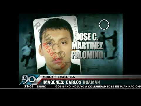 El Agustino: Cámaras de Seguridad captan asesinato con un cuchillazo