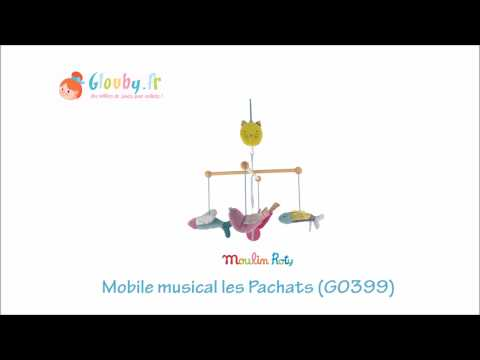 Mobile musical Les Pachats Moulin Roty - Glouby.fr