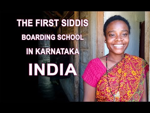 The First Siddis Boarding School in the State of Karnataka, India thumbnail