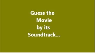 Film soundtrack quiz 1
