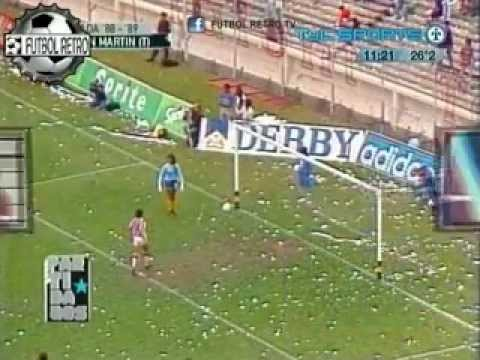 Boca Jrs 1 vs San Martin Tucuman 6 Campeonato 1988/89 FUTBOL RETRO TV