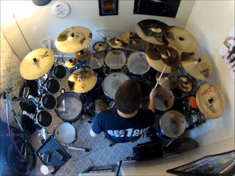 Thousand Foot Krutch-Let The Sparks Fly-Drum Cover