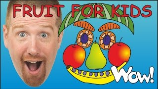 Fruit for Kids | Funny English Stories for Kids from Steve and Maggie by Wow English TV