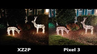 Sony Xperia XZ2 Premium vs Google Pixel 3 Night Test - Best Low Light Cameras?