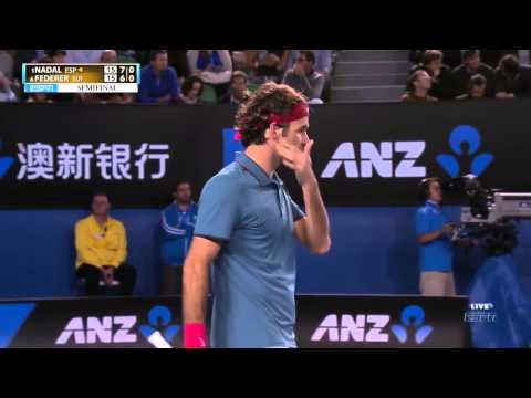 Nadal VS Federer - Australian Open 2014 - Semi-Final - Full Match HD