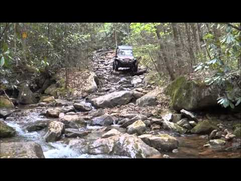Tackett Creek in the RZR