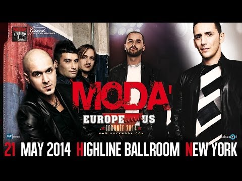 Modà Live in New York @ Highline Ballroom - May 21, 2014