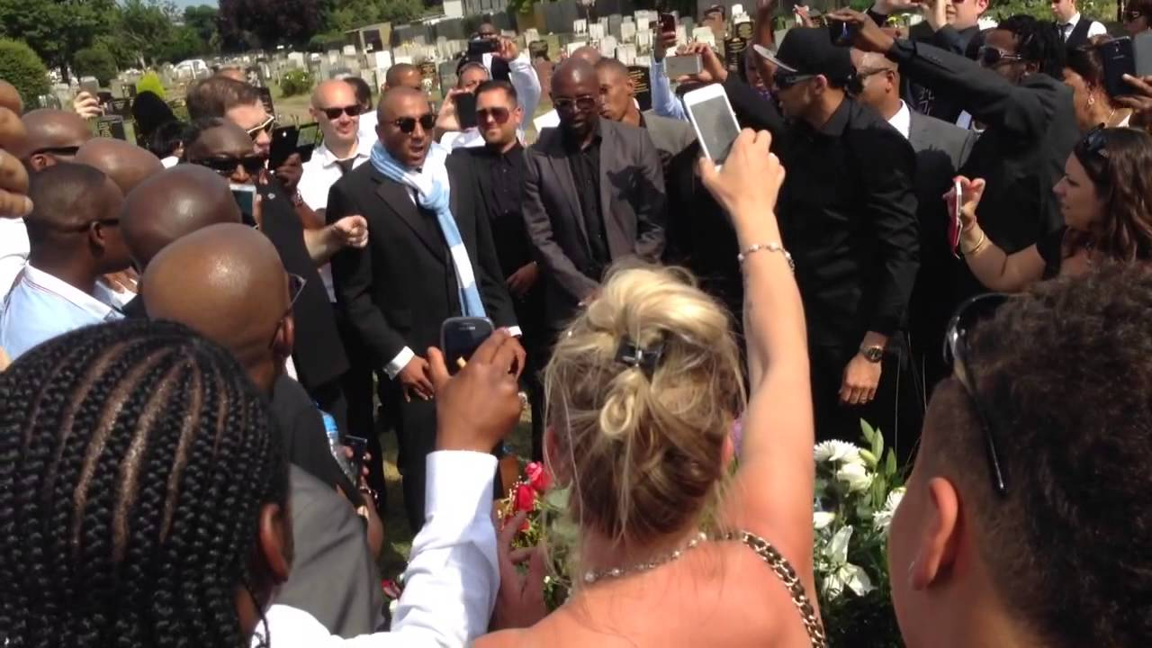 RIP MC Sparks MCs tribute at the burial 17 July 2014 Kie CK