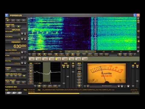 630 kHz YVKA Caracas, Venezuela Medium Wave DX Heard in Michigan on Perseus SDR