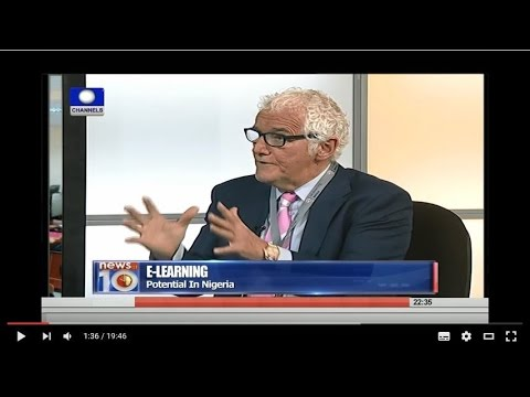 Uk Elearning Africa in Nigeria TV Interview News at 10