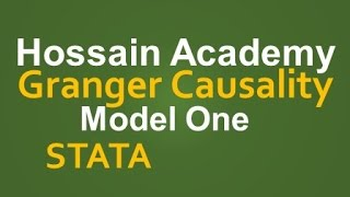 Granger Causality Test. Model One. STATA
