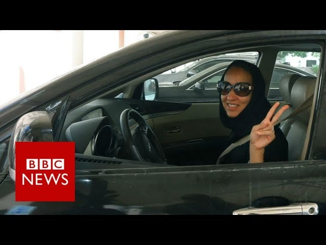 Saudi women rejoice at end of driving ban - BBC News
