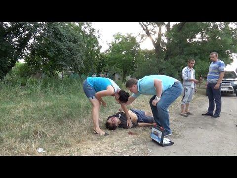 Пьяный водитель сбил парня в г.Одесса