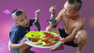 Mao Đệ Đệ Đi Câu Ếch Về Nấu Siêu Cay Và Cái Kết Cực Phiêu